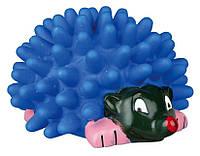 Игрушка Trixie Hedgehog для собак виниловая, с пищалкой, 10 см, фото 1