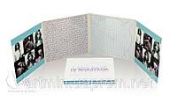 Digipack (диджипак) для 3 CD  4 лепестка от 300 шт