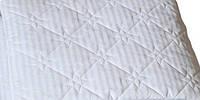 Подушка стёганая 45*40 , микрофибра, белая.