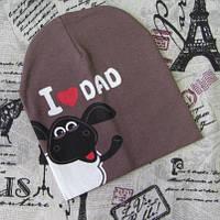Детская шапка Барашек шон