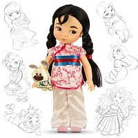 Кукла принцесса Мулан Дисней Аниматорс Disney Princess Animators Collection Doll Figure Mulan