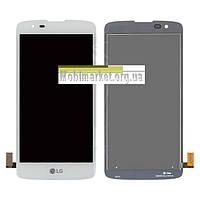 Модуль (сенсор + дисплей) для LG K8 K350E, K8 K350N, Phoenix 2 original білий