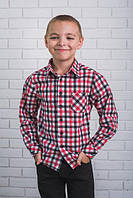 Рубашка для мальчика в школу