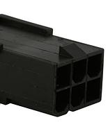 Коннектор  6Pin female ATX graphics card GPU PCI-E коннектор мама