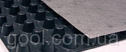 Шиповидная геомембрана Изолит Cottage толщина плотность 400 гр/м² размер 2х20 м.п. в рулоне 40 м2