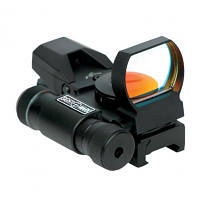 Коллиматорный прицел SightMark Laser Dual Short Sight с ЛЦУ SM13002