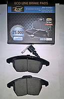 Тормозные колодки передние Octavia 2.0fsi, 1.8tsi, Superb с 2008, Rapid, Yeti