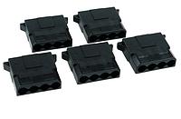 Коннектор  4P 4D male for PC computer IDE molex соединитель  black big