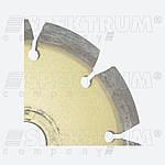 Круг по бетону 125 с клиновидными сегментами Crack Chaser, фото 2