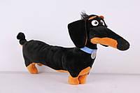 Мягкая игрушка такса Бадди 25 см из мультфильма Тайная жизнь домашних животных