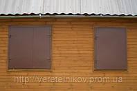 Ставни металлические, распашные на окна. Харьков цена, купить.