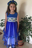 Детская заготовка на платье пошитая СПД-03