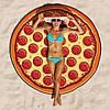 Пляжный коврик Пицца (Pizza) 143 см