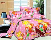 Комплект постельного белья для детей 1.5 WINX (ДП-Winx-1)