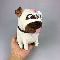 Мягкая игрушка собака Мел, 19 см