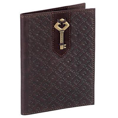 "Обложка на паспорт из кожи ""Ключ"" Makey (509-08-31)"