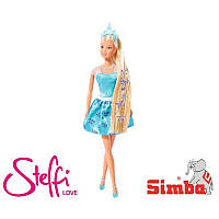 Кукла Steffi Принцесса с украшениями для волос Simba 5737106