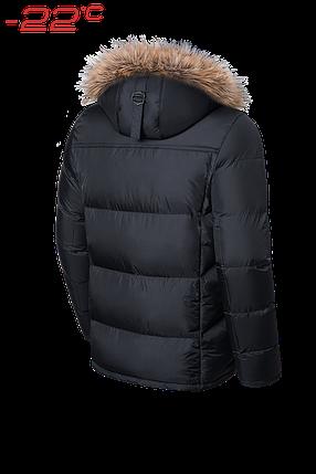 Черная мужская зимняя куртка Braggart (р. 46-56) арт. 3145, фото 2