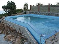 Бассейн бетонный Мозаика