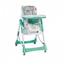Детский стульчик для кормления Bertoni PRIMO (green white friends)