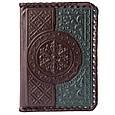 """Обложка на паспорт из кожи """"Венеция"""" Makey (509-08-41), фото 2"""