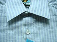 Шведка для мальчика Zoor приталенная голубая полоска S разм, фото 1