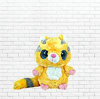 Детская мягкая игрушка чудо зверек,малышь енотик