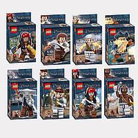 Конструктор KSZ серия Pirates (Пираты) 515 Пираты карибского моря 8 видов