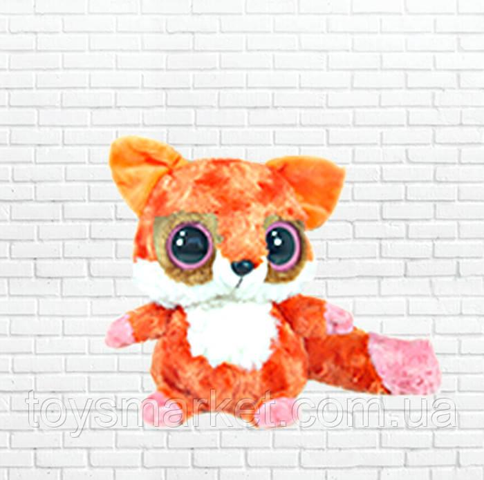 Детская мягкая игрушка чудо зверек,малышь лиса