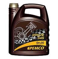 Моторное масло PEMCO iDRIVE 345 SAE 5W-30 SN/CF ACEA C3 (5L)