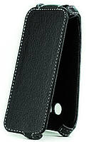 Чехол Status Flip для Samsung Galaxy J1 J100 Black Matte
