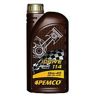 Моторное масло PEMCO iDRIVE 114 SAE 15W-40  API CI-4/CH-4/CG-4/CF-4/CF/SL ACEA  02-E2/A2/B3  (1L)