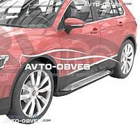 Подножки VW Tiguan 2016-... (в стиле BMW X5 CanOto)