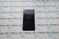 Задняя панель корпуса для мобильного телефона Sony Xperia M4 Aqua E2363 черная