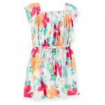 Летнее цветное платье  для девочки Carters