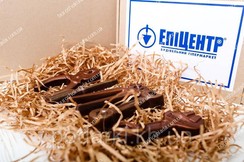 Брендированный шоколадный набор инструментов