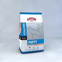 Arion Original Puppy Medium Salmon & Rice корм для щенков средних пород с лососем, 3 кг, фото 1