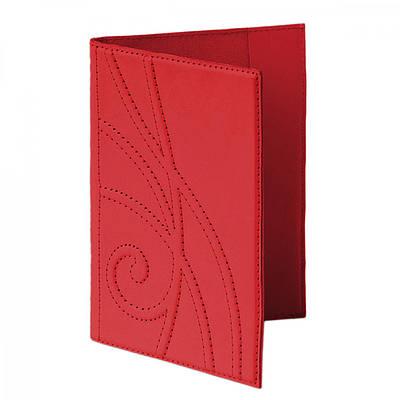 """Обложка на паспорт из кожи """"Ар-нувó"""" Makey (509-08-42)"""