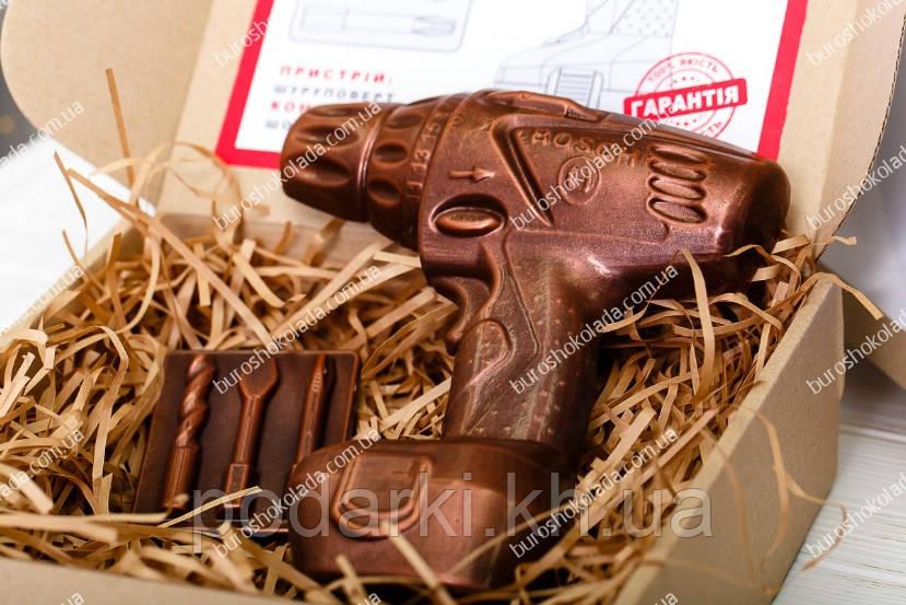 Брендированный шоколадный набор Шуруповерт