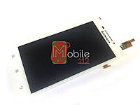 Модуль для Lenovo S650/ S658 (Дисплей + тачскрин), белый оригинал