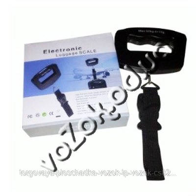 Электронные цифровые весы безмен кантер Handheld Electronic Digital Luggage Scale с ремешком до 50кг