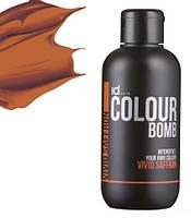 Тонирующий бальзам рыжий IdHair Colour Bomb Vivid Saffron