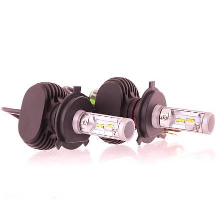 LED(светодиодная)авто лампа RS H4 G8.1 6500К 12V, фото 2