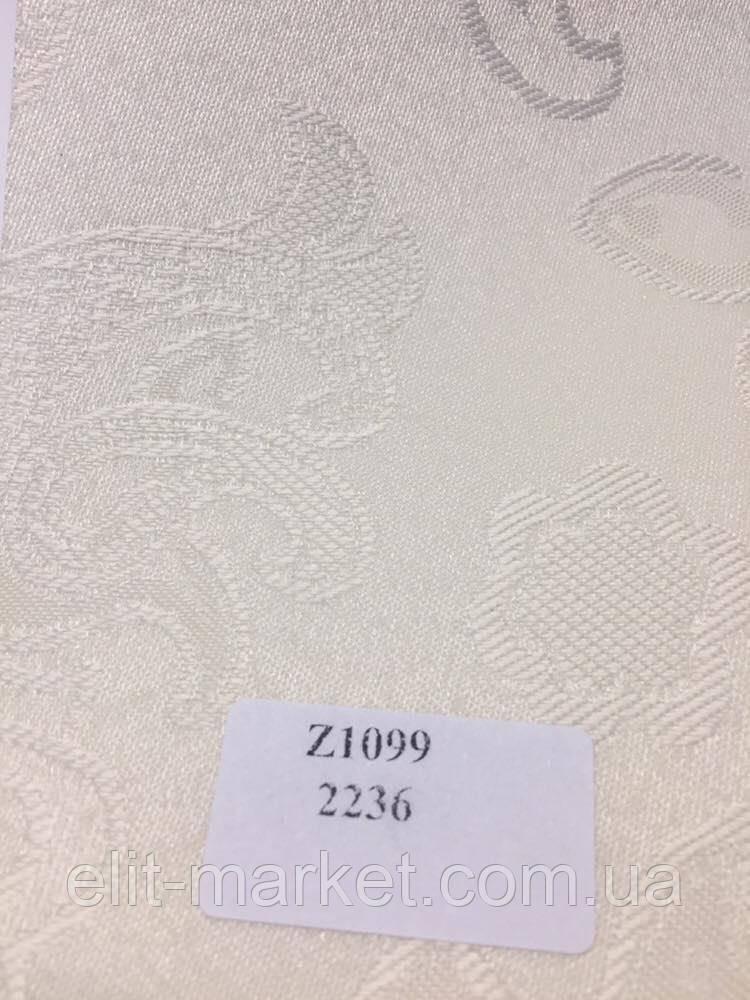 Рулонные шторы Z арабеска 2236 слоновая кость
