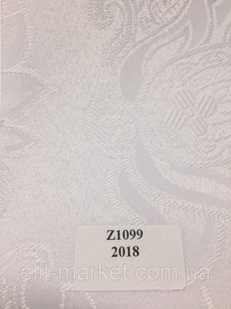 Рулонные шторы Z арабеска белый