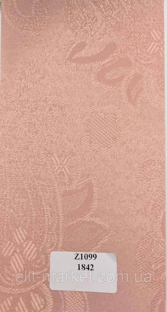 Рулонные шторы Z арабеска светло-розовый