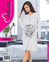 Турецкая хлопковая ночная рубашка для беременности и кормящих мам