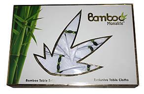 Бамбукова скатертина із серветками Monalife Bamboo, фото 2