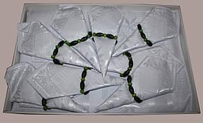 """Бамбуковая скатерть с салфетками """"Monalife"""" Bamboo, фото 2"""