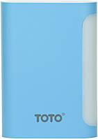 Портативная батарея TOTO TBG-48 Power Bank 7500 mAh 2USB 3,1A Li-Ion Blue